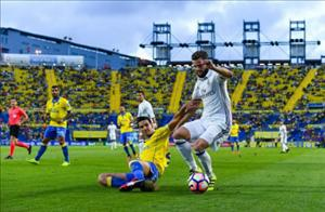 Tổng hợp: Las Palmas 2-2 Real Madrid (Vòng 6 La Liga 2016/17)
