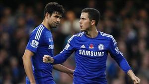 Hazard: Costa là chìa khóa giúp Chelsea vô địch EPL