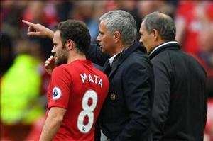 """Mata: """"Tôi chưa bao giờ có mâu thuẫn với Mourinho"""""""