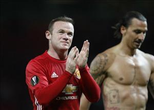 Wayne Rooney lại gây thất vọng ở trận M.U 1-0 Zorya
