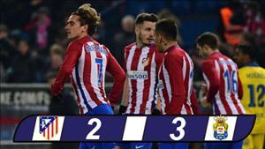 Atletico Madrid 2-3 (4-3) Las Palmas: Thua soc, Atletico van vao tu ket cup Nha vua TBN