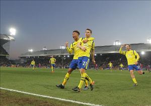 Tổng hợp: Crystal Palace 0-1 Everton (Vòng 22 NHA 2016/17)