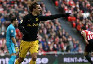 Tổng hợp: Bilbao 2-2 Atletico Madrid (Vòng 19 La Liga 2016/17)