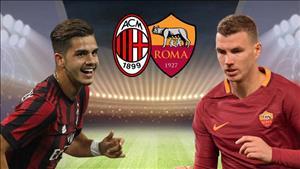 Nhan dinh AC Milan vs Roma 23h00 ngay 1/10 (Serie A 2017/18)