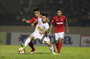 HAGL mất bộ đôi trụ cột ở trận gặp CLB QNK Quảng Nam