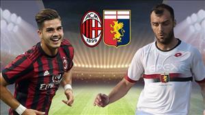 Nhan dinh AC Milan vs Genoa 20h00 ngay 22/10 (Serie A 2017/18)