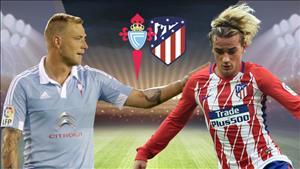 Nhận định Celta Vigo vs Atletico Madrid 21h15 ngày 22/10 (La Liga 2017/18)