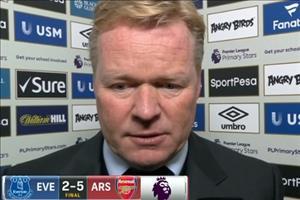 Thua tan nát, HLV Everton thừa nhận nguy cơ bị đuổi việc