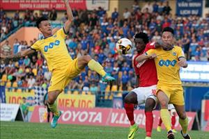 5 bàn thắng đẹp vòng 22 V-League 2017