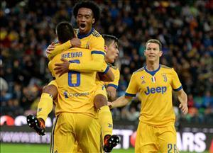 Udinese 2-6 Juventus: Tham sat trong the thieu nguoi