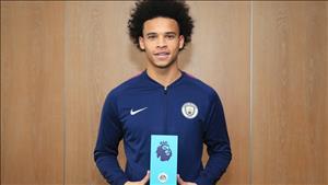 Man City thống trị giải thưởng Premier League tháng 10/2017