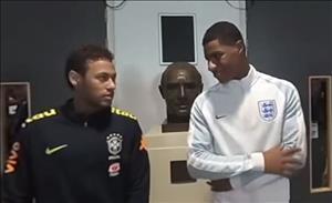 Thực hư cuộc nói chuyện giữa Neymar và Rashford
