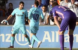Barca thiết lập thêm kỷ lục ở La Liga trong ngày Suarez ghi bàn trở lại