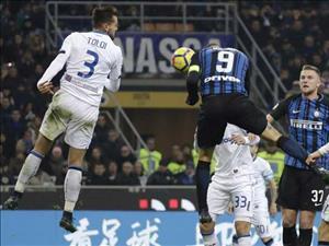 Tổng hợp: Inter Milan 2-0 Atalanta (Vòng 13 Serie A 2017/18)