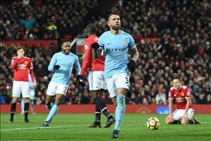 """Man City """"đánh sập"""" Old Trafford: Hãy bắt tôi nếu có thể!"""