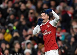 Tổng hợp: Arsenal 1-0 Newcastle (Vòng 18 Premier League 2017/18)