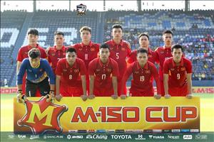 Hai cầu thủ U23 Việt Nam lọt vào đội hình tiêu biểu M-150 Cup