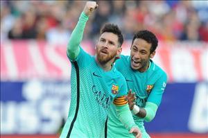 Atletico 1-2 Barca: Chiến thắng của Messi, không phải phần còn lại!