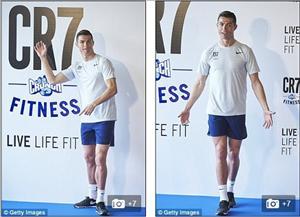 Sieu sao Ronaldo khai truong phong tap gym mang thuong hieu CR7