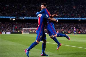 Barca 4-2 Valencia: Lai la cau chuyen MSN lam, thu pha