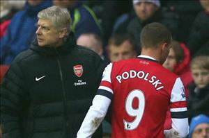 Người hùng Podolski nói gì về thầy cũ Wenger?