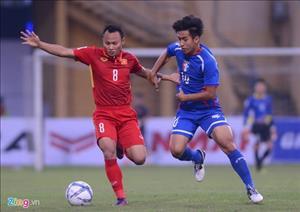 Tiền vệ Trọng Hoàng rời tuyển Việt Nam vì chấn thương