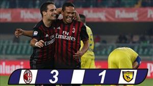 AC Milan 3-1 Chievo: Cu dup cua Carlos Bacca