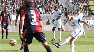 Tong hop: Cagliari 1-5 Inter Milan (Vong 27 Serie A 2016/17)