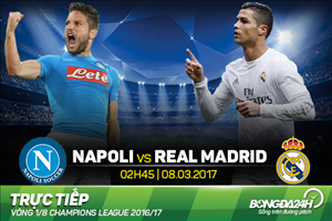 Napoli 1-3 (2-6) Real Madrid: Ngay sieu trung ve Ramos len than