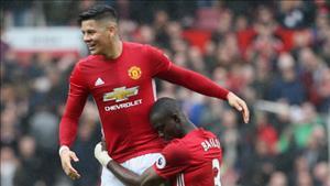 Bo doi Rojo - Bailly duoc Jose Mourinho khen ngoi dac biet