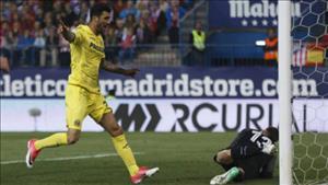 Tổng hợp: Atletico Madrid 0-1 Villarreal (Vòng 34 La Liga 2016/17)