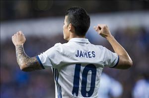 Dư âm Deportivo 2-6 Real: James Rodriguez chứng tỏ giá trị