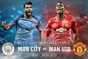 Man City vs Man Utd (2h ngày 28/4): Thời cơ báo thù của Mourinho