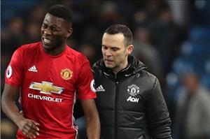 Man Utd có thêm cầu thủ phải nghỉ hết mùa sau trận derby