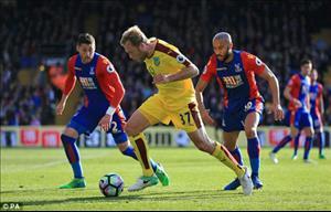 Tổng hợp: Crystal Palace 0-2 Burnley (Vòng 35 NHA 2016/17)