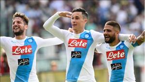 Tong hop: Torino 0-5 Napoli (Vong 36 Serie A 2016/17)