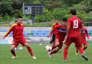 U20 Việt Nam tập kín trước trận gặp U20 New Zealand