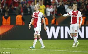 Thua MU tại Europa League, cầu thủ Ajax bị CĐV ném ghế
