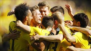 Vong 32 Bundesliga 2016/17: Dortmund tro lai Top 3