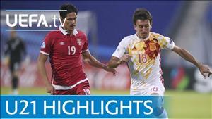 Tổng hợp: U21 Serbia 0-1 U21 TBN (U21 châu Âu 2017)