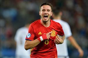 Saul lập hat-trick siêu phàm vào lưới U21 Ý, người TBN trả được món nợ EURO