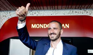 AC Milan CHINH THUC cong bo thuong vu Bonucci