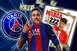 PSG rất nghiêm túc trong việc chiêu mộ Neymar
