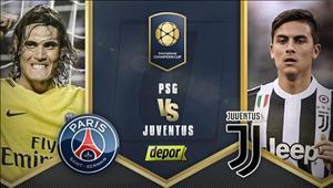 TRỰC TIẾP PSG vs Juventus 08h05 ngày 27/7 (ICC 2017)