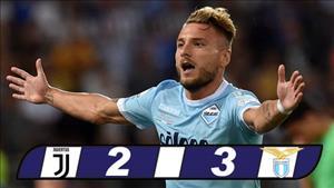 Juventus 2-3 Lazio: Nghet tho doat Sieu cup Italia 2017