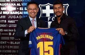 Tân binh Paulinho khiến Barca méo mặt vì không bán nổi áo đấu