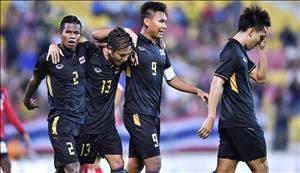 Tổng hợp: U22 Thái Lan 3-0 U22 Campuchia (Sea Games 29)