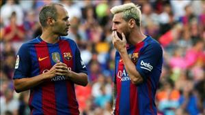 Barca náo loạn vì tương lai Lionel Messi và Iniesta