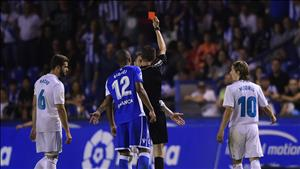 Ramos lập kỷ lục về số lần bị đuổi khỏi sân