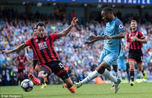 Bournemouth vs Man City thống kê lịch sử đối đầu